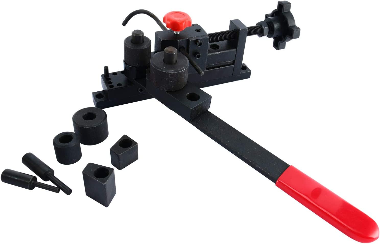 YaeTek Mini Universal Bending Bender Manual Mounting Bending Machine, Forms Wire Flat Metal Tubing Pipe Tube into Clamp Hook Brackets Coil Hardened Tool