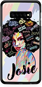 Kaidan Samsung Galaxy S10 S20 + Case S10e African American Custom Name Note 10 9 S9 S8 Plus Colorful Girl Google Pixel 3 XL 2 iPhone 6S 6 Personalized 12 11 Pro Max Woman 8 7 5 5S SE XR X XS appd247