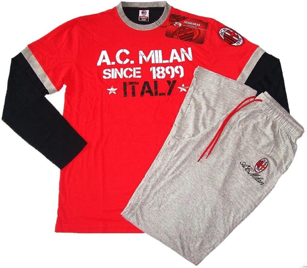 Pijama Chándal para Hombre AC Milan Ropa Equipos de fútbol * 10318 ...
