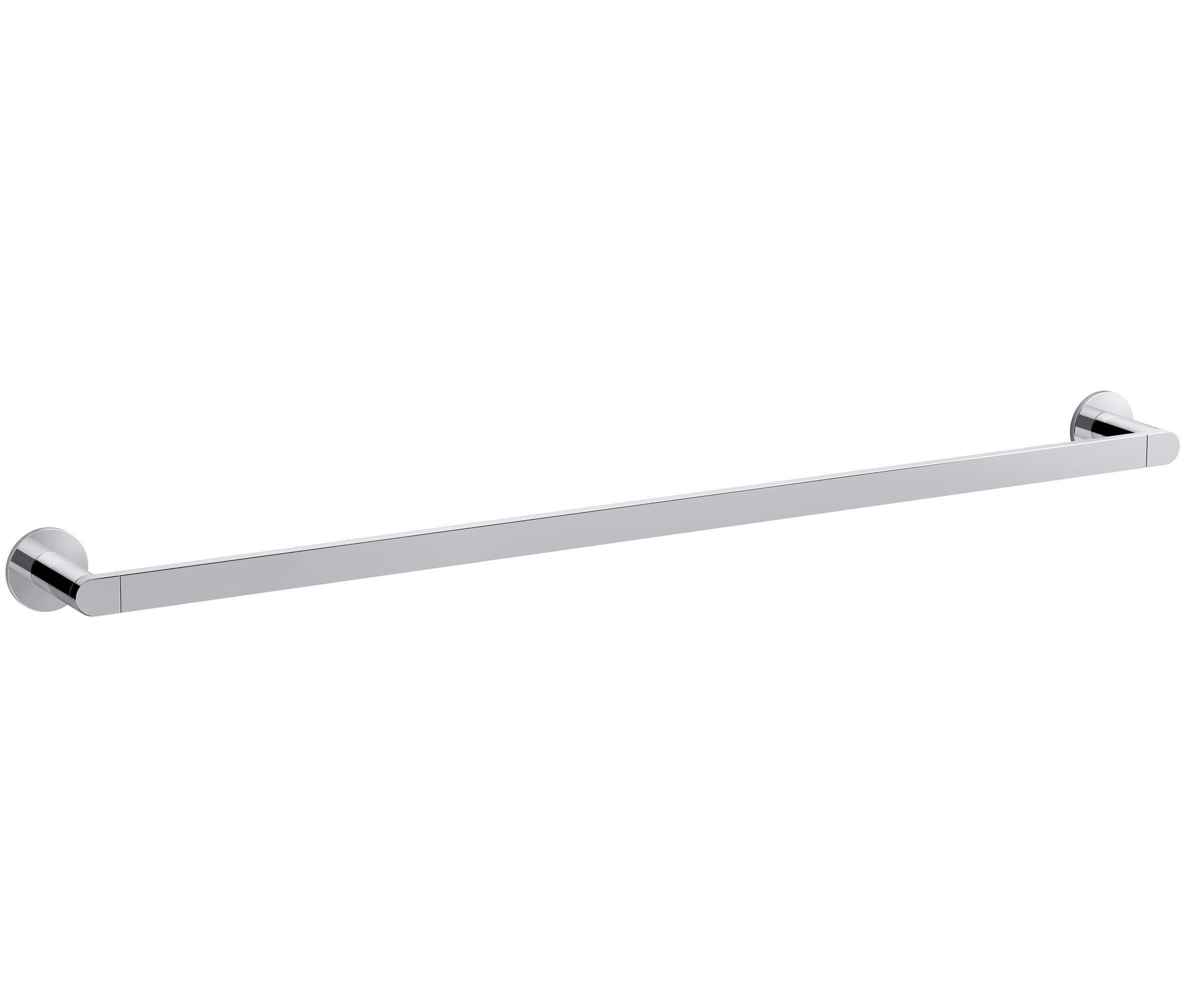 KOHLER K-73143-CP Composed 30 In. Towel bar Polished Chrome