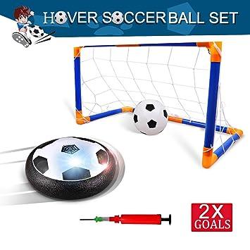 Balón de Fútbol Air Power Football con Luces LED,Puerta de fútbol ...