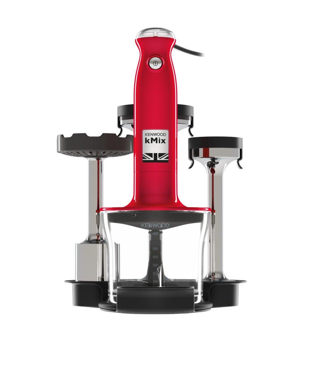 Batidora Kenwood Electronics HDX754RD Hand mixer Red 800 W Batidora de mano, Rojo, Mezcla, Pur/é, Y, 0,5 L, Botones