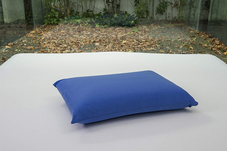 Impermeable y Transpirable Azulina 75 x 40 Bsensible Funda de Almohada Protectora de Tencel
