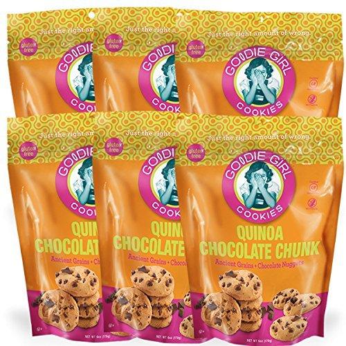 Gluten Free Goodie Girl Cookies Quinoa Chocolate Chunk 6 - (6 oz pouch)