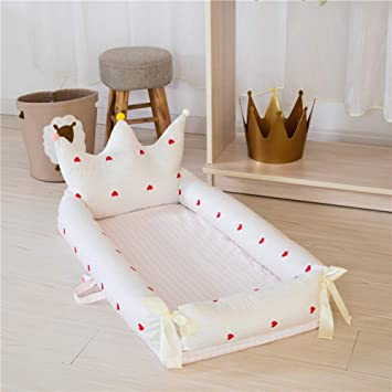 Baby Nest Crown Shape Cocoon eco Cuna para bebé recién ...