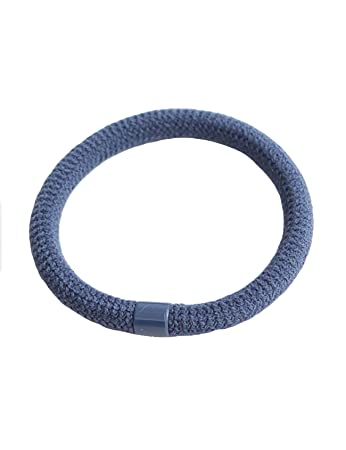 Amazon.com   Legou Women Elastic Hair Ties Rope Ponytail Holder Accessories Navy  Blue   Beauty f41fdf48cd1