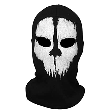 Amazon.com : OnairMall Call of Duty 10 COD Ghost Hoods Skull ...