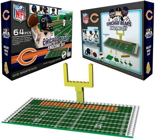 NFL Chicago Bears Endzone Toy Set Chicago Bears Nfl End