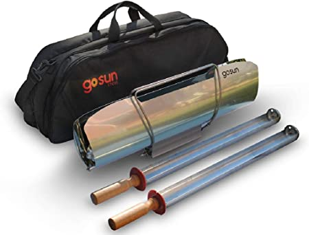 side facing gosun sport pro pack portable solar oven