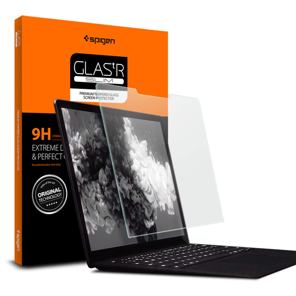 Spigen Screen Protector Designed for Microsoft Surface Laptop 2 (13.5 inch) 2018 Release