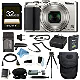 Nikon Coolpix A900 Digital Camera (Black) w/ 32GB Card & DigitalAndMore Free Deluxe Accessory Bundle