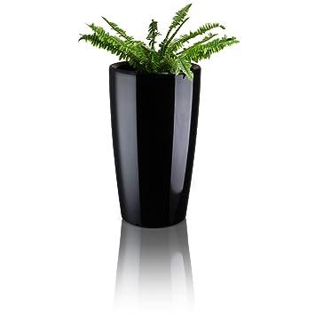 Blumenkübel Pflanzkübel RONDOMATIC Kunststoff - Farbe: schwarz ...