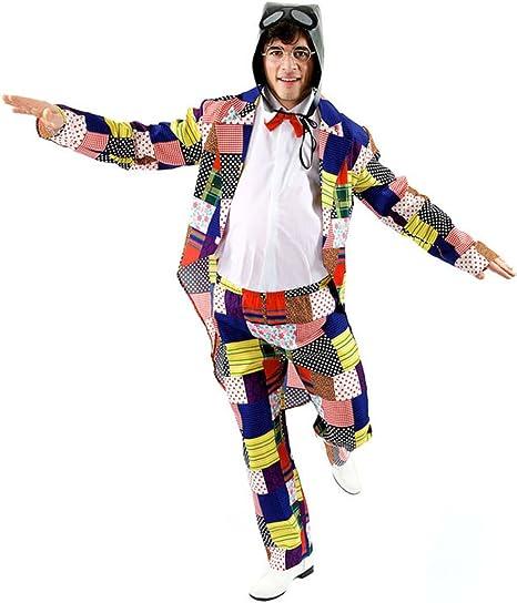 Orion Costumes – Disfraz de años 80 90s Chubby traje humorística ...