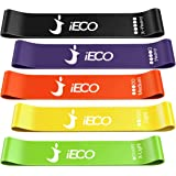 Resistance Bands, Exercise Bands Set for Women and Men, Elastic Workout Bands for Fitness Home Gym, Set of 5