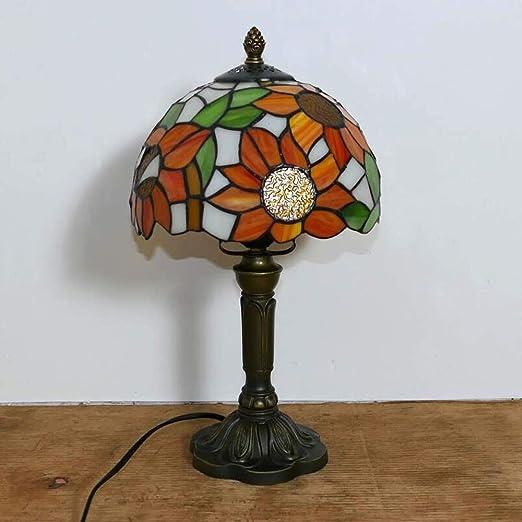 Lámpara de Mesa Estilo Tiffany de 8 Pulgadas, Restaurante de ...