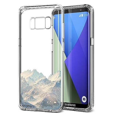Eouine Coque Samsung Galaxy S8 Plus Ultra Mince Etui En Silicone 3d