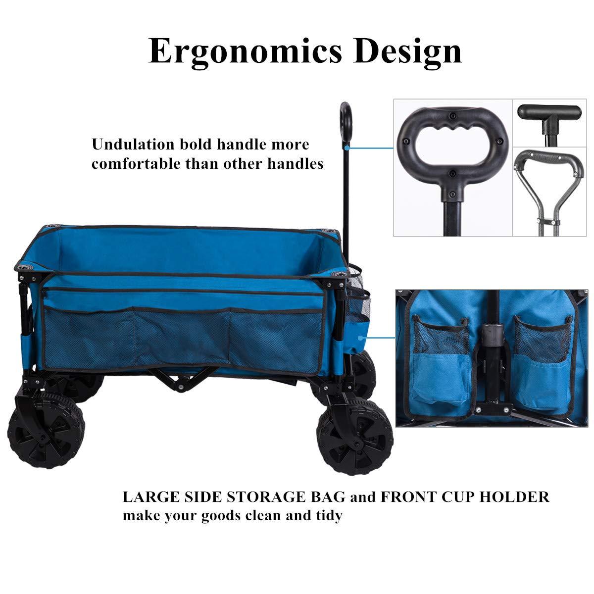 Amazon.com: Timber Ridge - Wagon/Carta, plegable, marco de ...