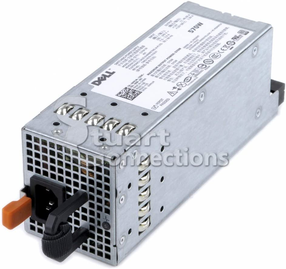 Dell VPR1M Poweredge T610 R710 Redundant 570W Power Supply C570A-S0