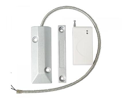 Detector de apertura de puerta de garaje o persiana o toldo enrollable inalámbrico