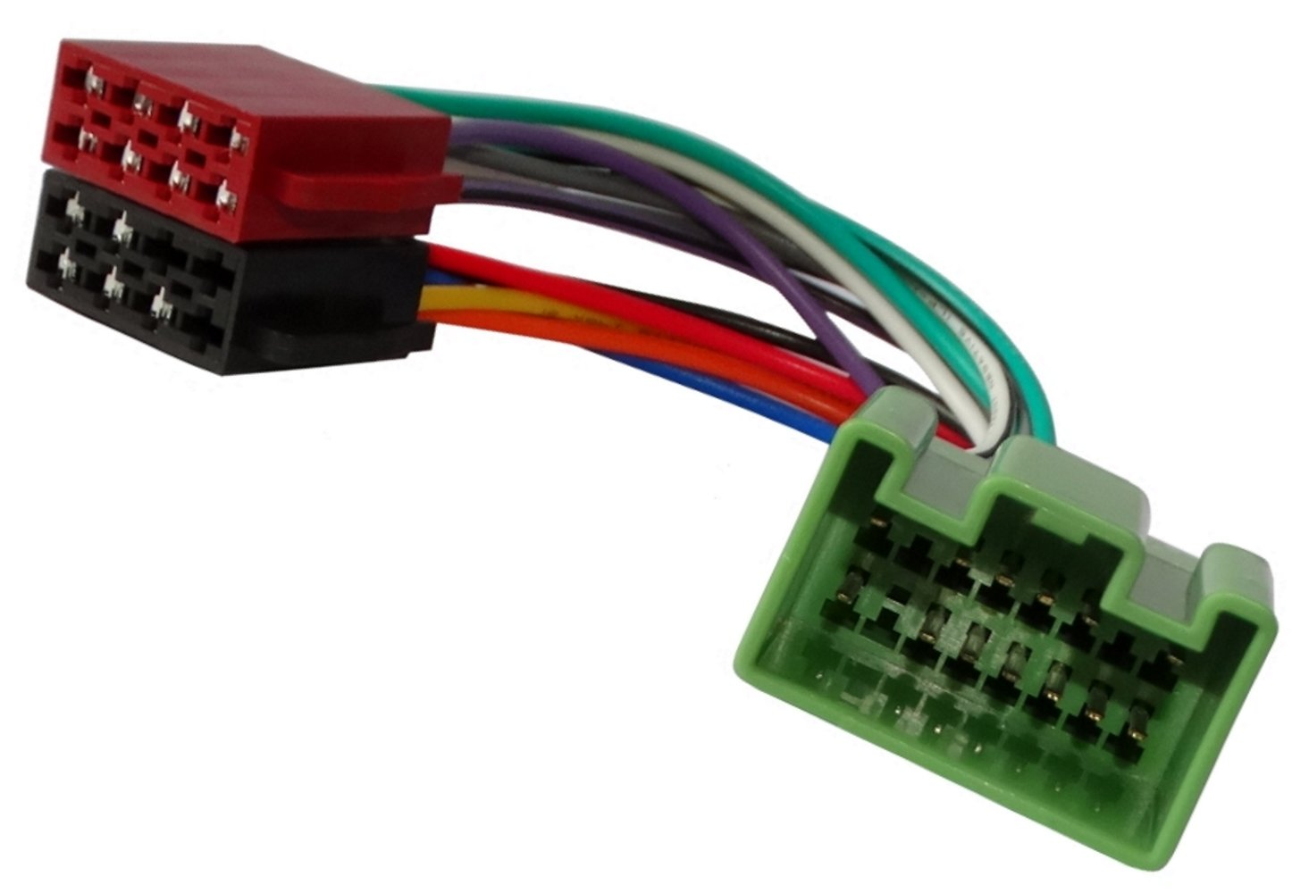 Adattatore cavo fascio spina ISO per autoradio . Aerzetix