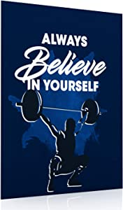 Minimalist Posters Inspirational Quotes Always Believe in Yourself 11