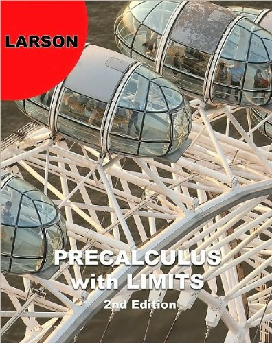 Download Ron Larson,Robert P. Hostetler'sPrecalculus with Limits [Hardcover](2010) pdf epub