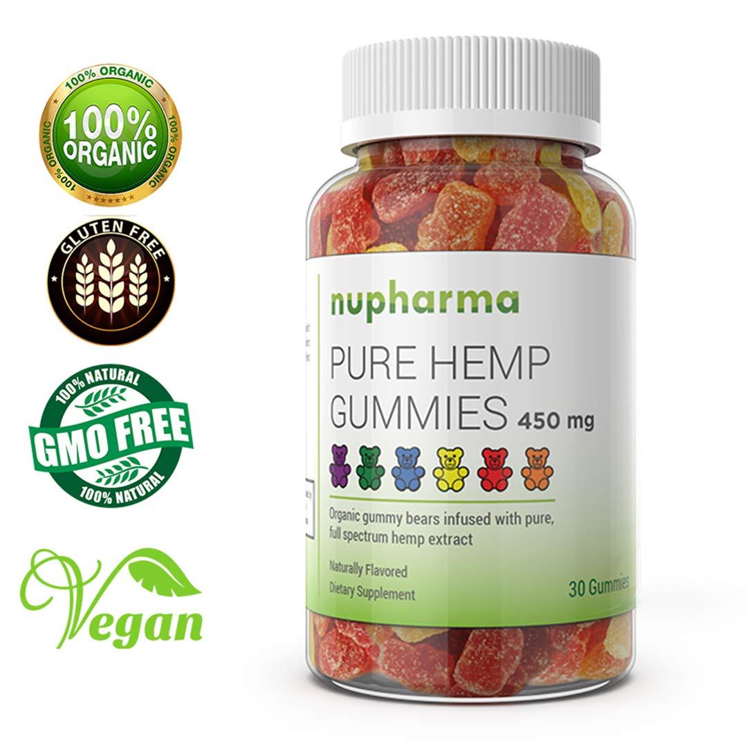 Amazon com: Premium Hemp Gummies 600mg- 30 ct - 20mg Per