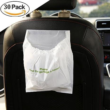 375fc579c Valuetom coche bolsa de basura desechable Auto bolsa de basura para basura  de gran capacidad a