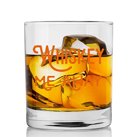 Amazon.com: Copas de whisky de cristal de SODILLY Me Away ...