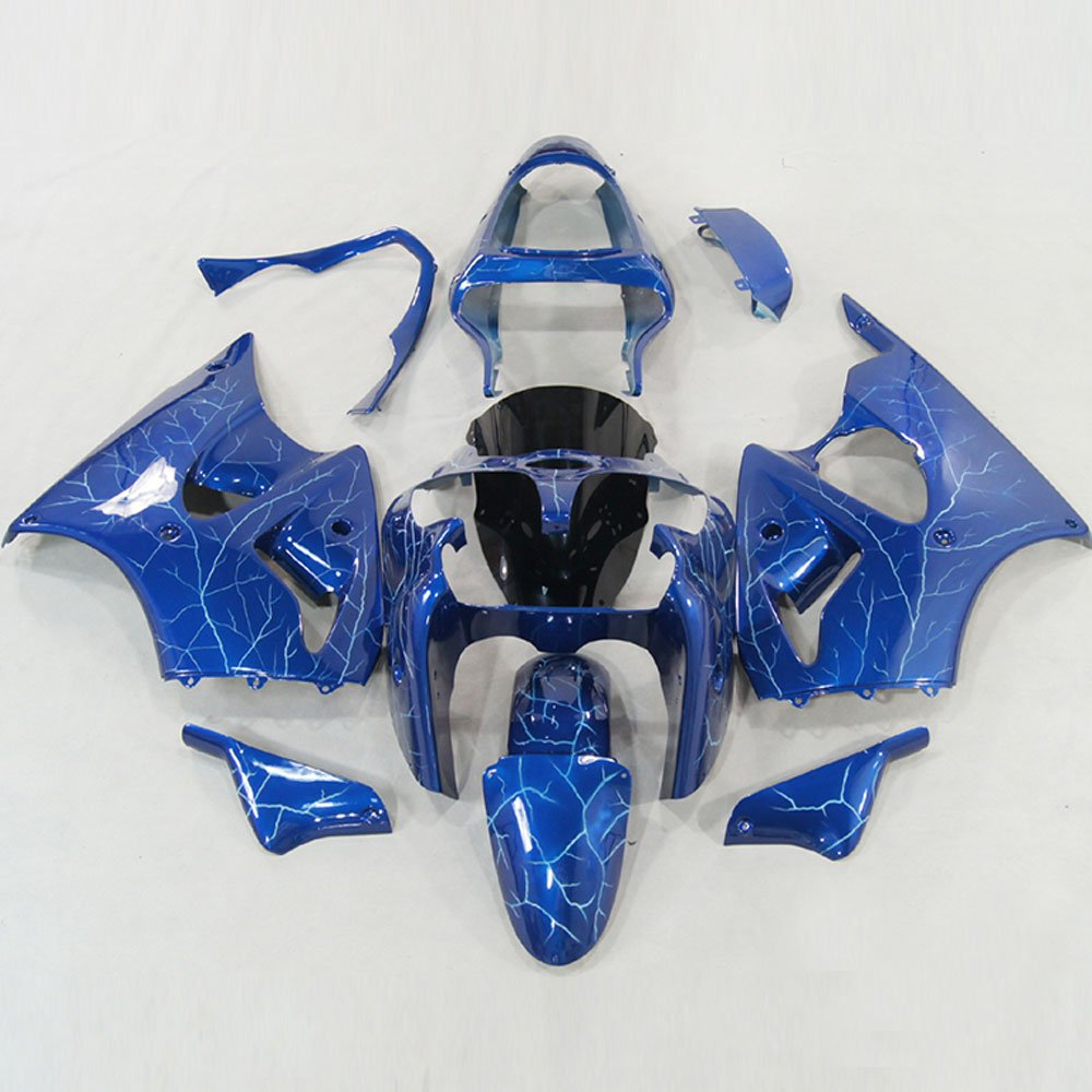 Amazon.com: Moto Onfire ABS Injection Mold Flash Blue ...