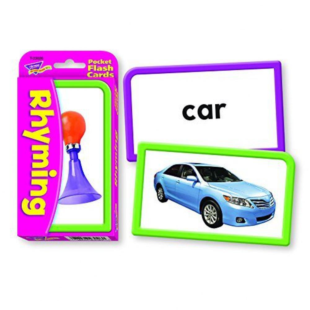 値引きする [トレンドエンタープライズ]Trend Enterprises T-23026 Rhyming Flash Pocket Flash Cards [Set of 3] 3] T-23026 [並行輸入品] B00QFWQZVK, カワマタマチ:25e7027d --- mrplusfm.net