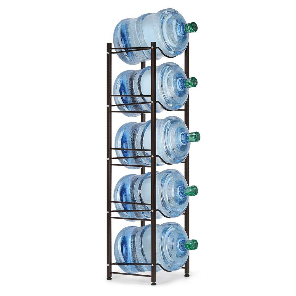 Water Cooler Jug Rack 5 Tier by Neala