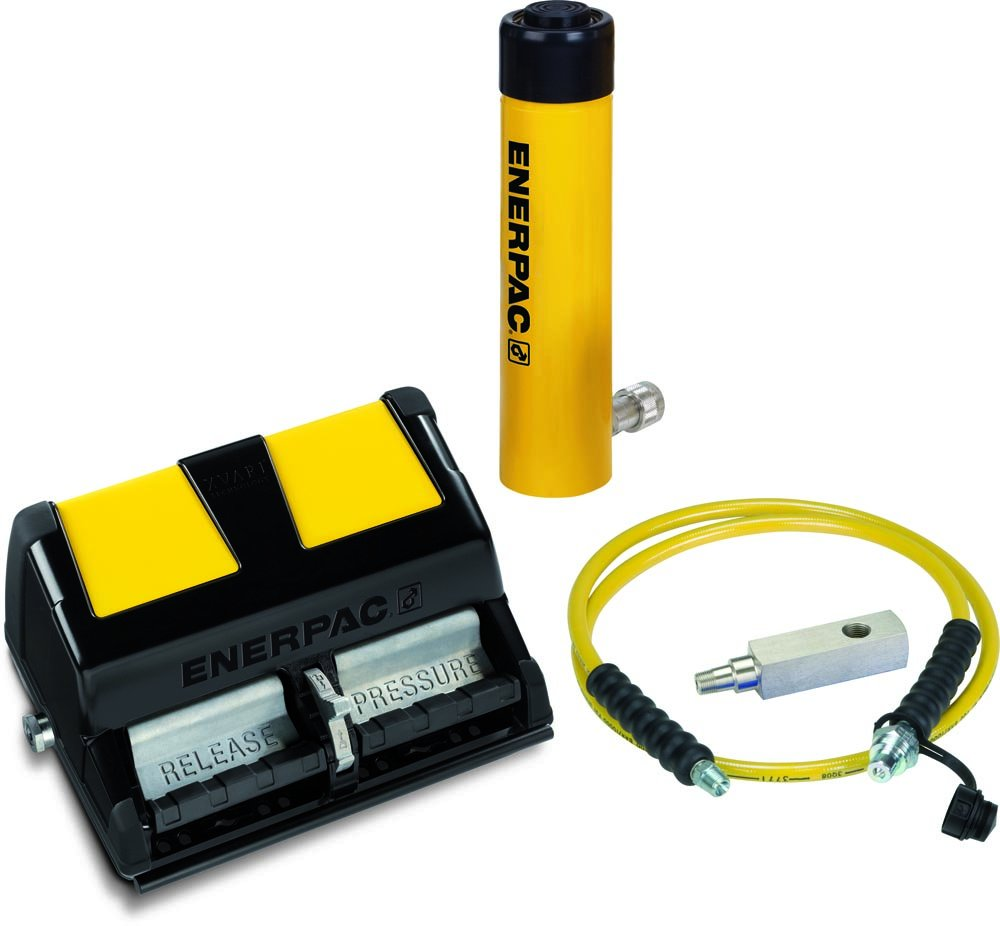Enerpac SCL-302XA Cylinder and Pump Set with RCS302 Cylinder and XA11 Air Pump