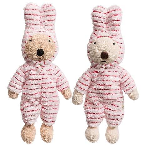 Amazon.com: Xndz - Juego de 2 trajes de conejo de felpa con ...