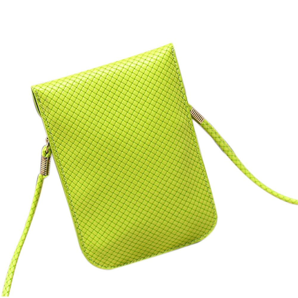 Functional Roomy Pocket Small Crossbody Bag Cell Phone Purse Wallet For Women by She25 (Image #2)