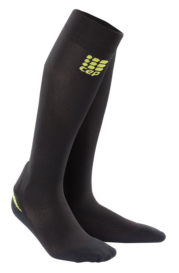 CEP Women's Ortho+ Full Achilles Support Socks with SmartMemory Foam & targeted Compression for Post-Achilles Injuries, Swelling, bruising, Recovery