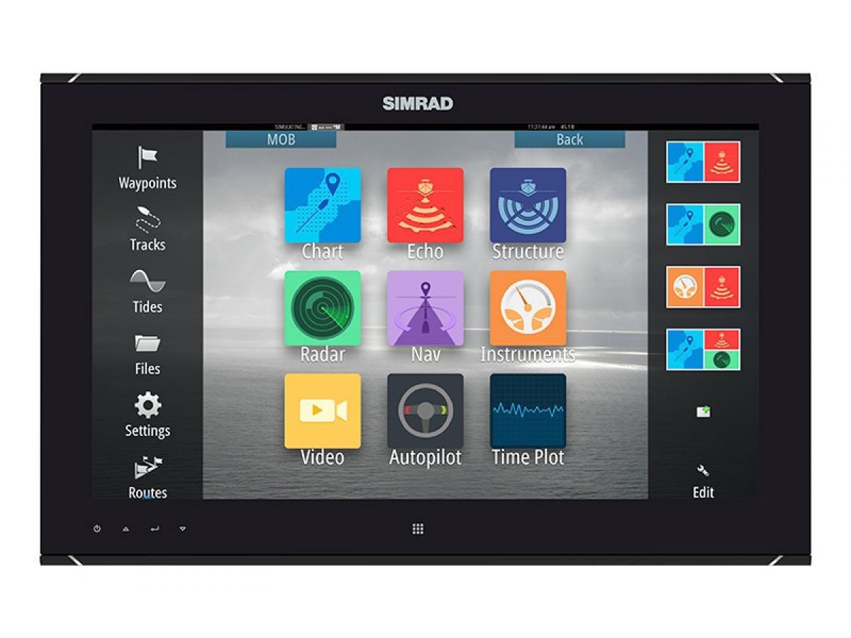 Simrad Mo19-P Pantalla Ancha HD Monitor (No Táctil)