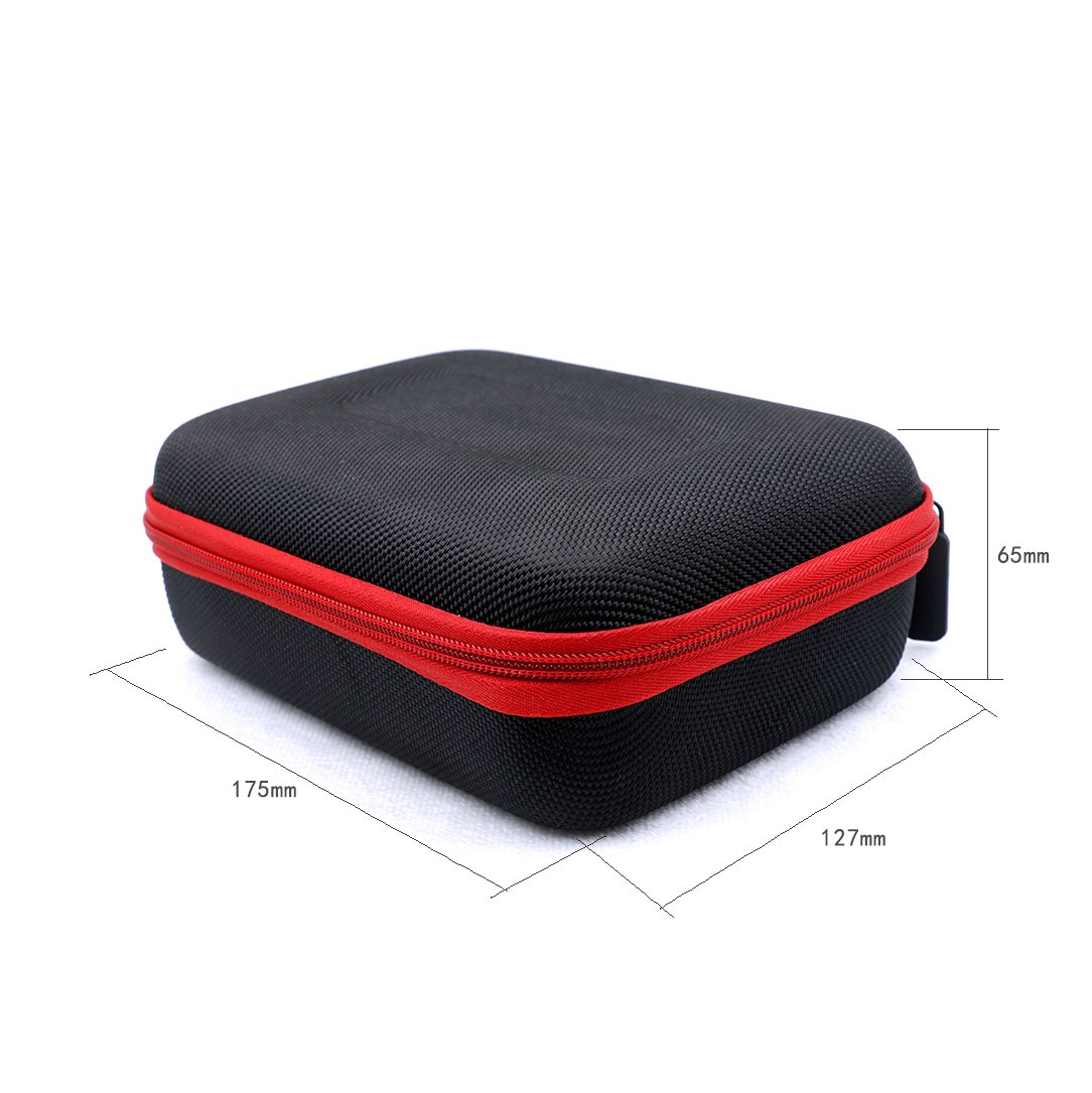 Black Hard Shell Protective Released Convienent Bag Vape Case Coils, Tanks, Mods Bottles Coil Supplys Other Accessories (Case Only)