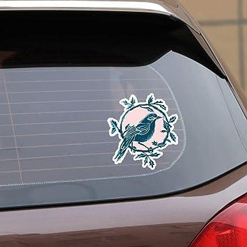 ZHOUHAOJIE Totem Car Stickers 139 * 151Cm Pájaros De La Moda En ...