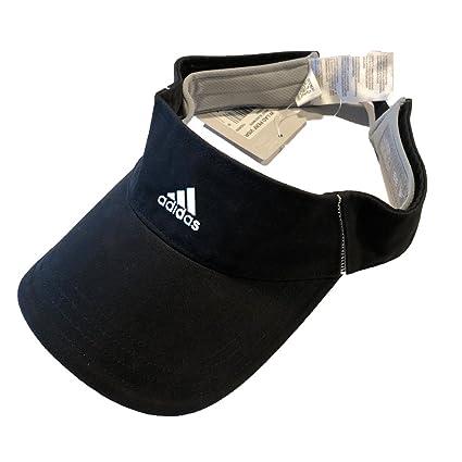 f252569c Amazon.com : adidas Women's Performance Visor, Black, One Size ...