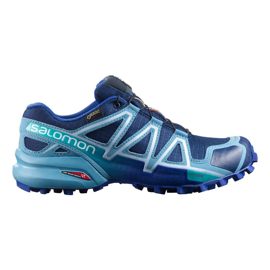 Salomon Women's Speedcross 4 GTX W Trail Running Shoe B017SQV6WE 11 B(M) US|Blue Depth/Blue Gum/Blue Yonder