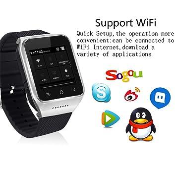 WIFi GPS 3G más pequeño SmartWatch teléfono, Upxiang 3G ...