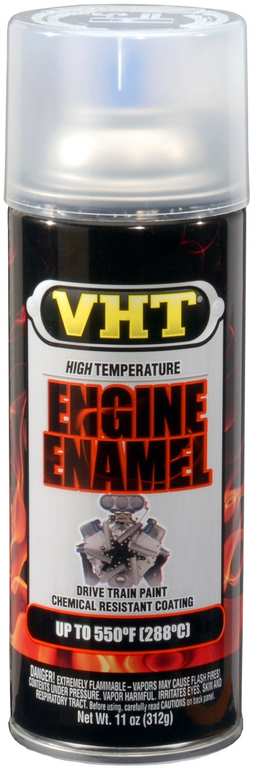 VHT ESP145007 Engine Enamel Gloss Clear Can - 11 oz.