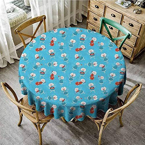 Round Tablecloth Tassel 67