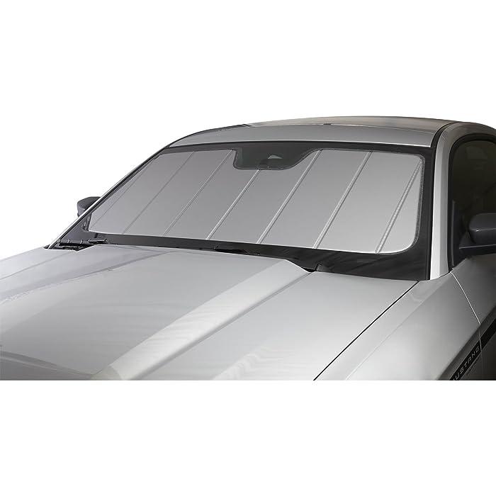 Covercraft UV11241SV Silver UVS 100 Custom Fit Sunscreen for Select Honda CR-V Models - Laminate Material, 1 Pack
