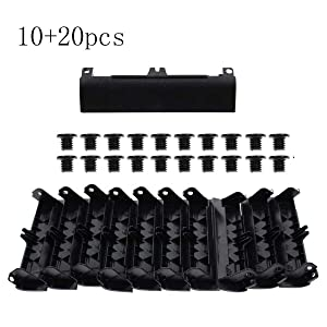 AUTOKAY New 10pcs Replacement HDD Hard Drive Caddy Cover with Screws for Dell Latitude E6430 E6530 E6330 Series