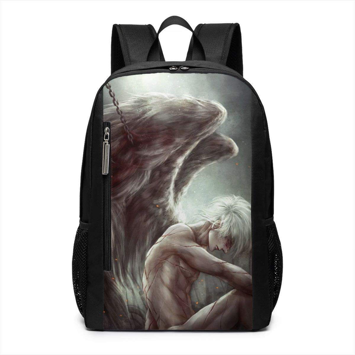 Amazon com: Wounded Angel Male Sad Warrior School Travel