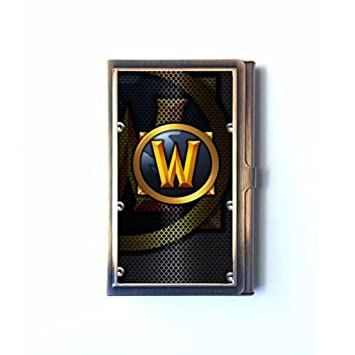 World of warcraft business card holders credit id card wallet world of warcraft business card holders credit id card wallet name card case reheart Choice Image