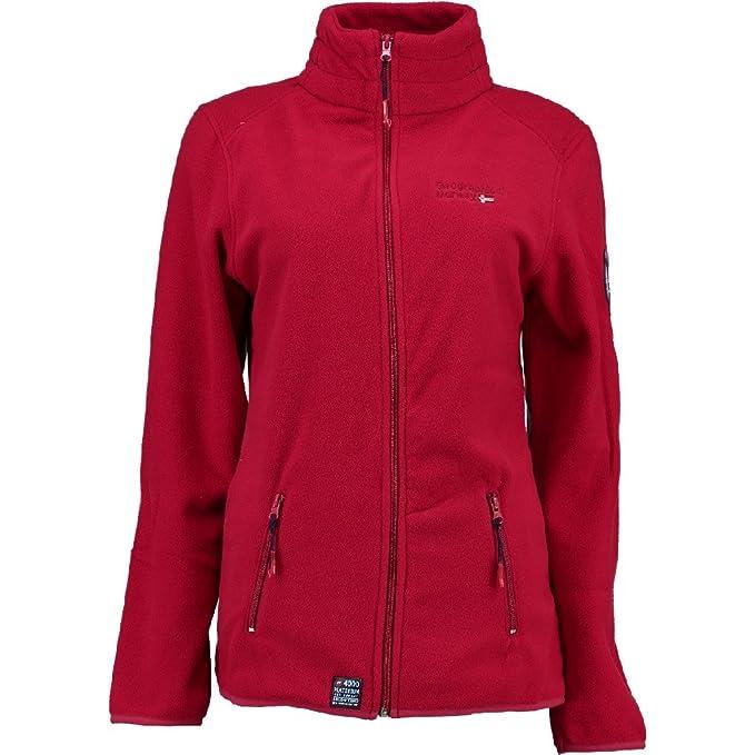 Geographical Norway - Chaqueta - para mujer rojo XL: Amazon.es: Ropa y accesorios