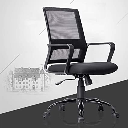 Best Office Chair For Back >> Bestoffice Ergonomic Office Chair Desk Chair Mesh Computer Chair With Lumbar Support Arms Modern Executive Rolling Swivel Mid Back Task Chair For